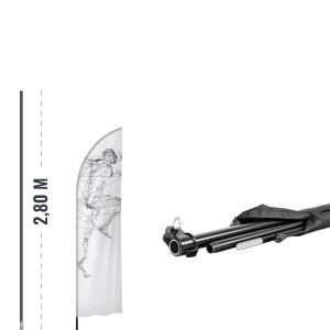 Maszt flagowy z włókna szklanego - AxOx Media - axox.eu