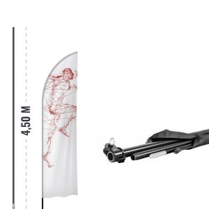 Maszt do flagi reklamowej - AxOx Media