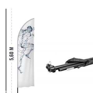 Maszt na winder reklamowy - AxOx Media
