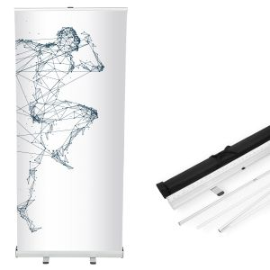 Kaseta do baneru roll up 85 x 200 cm - AxOx Media