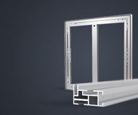 ramy aluminiowe do napinania tkanin